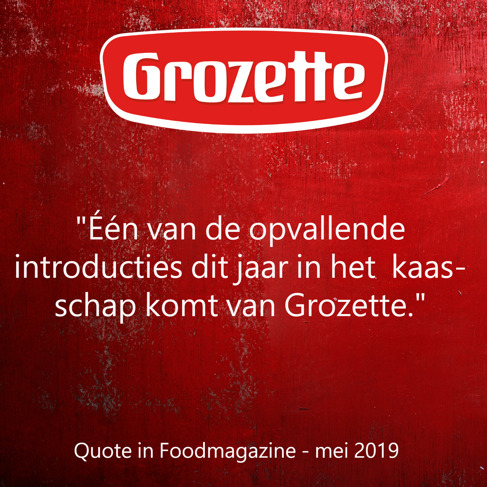 Grozette LinkedIN quote foodmagazine mei 2019